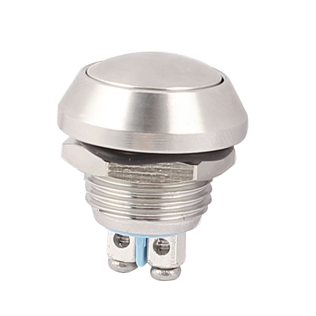 12mm Mounted Thread SPST Ball Head Momentary Push Button Switch