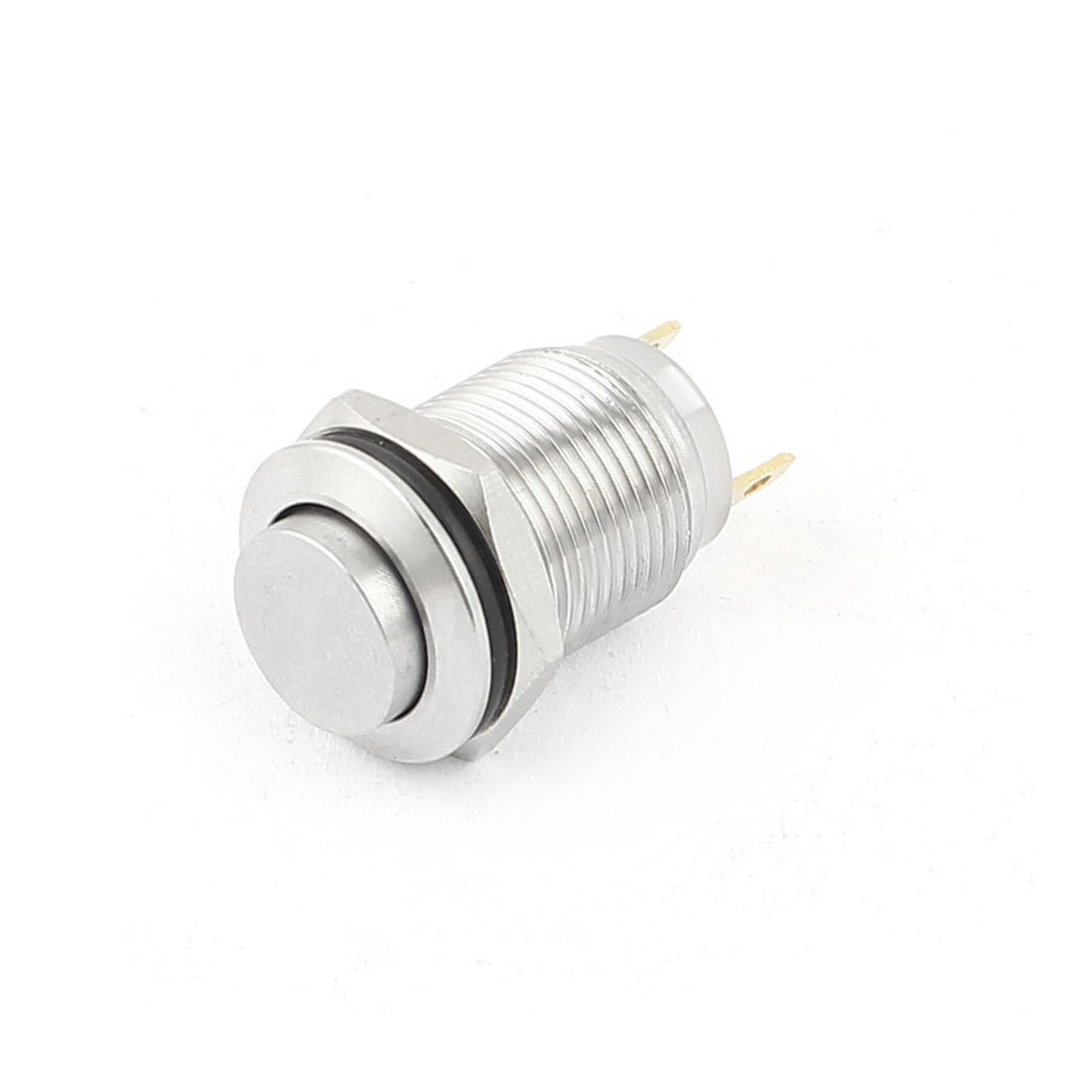 12mm Mounted Thread SPST High Head Momentary Push Button Switch