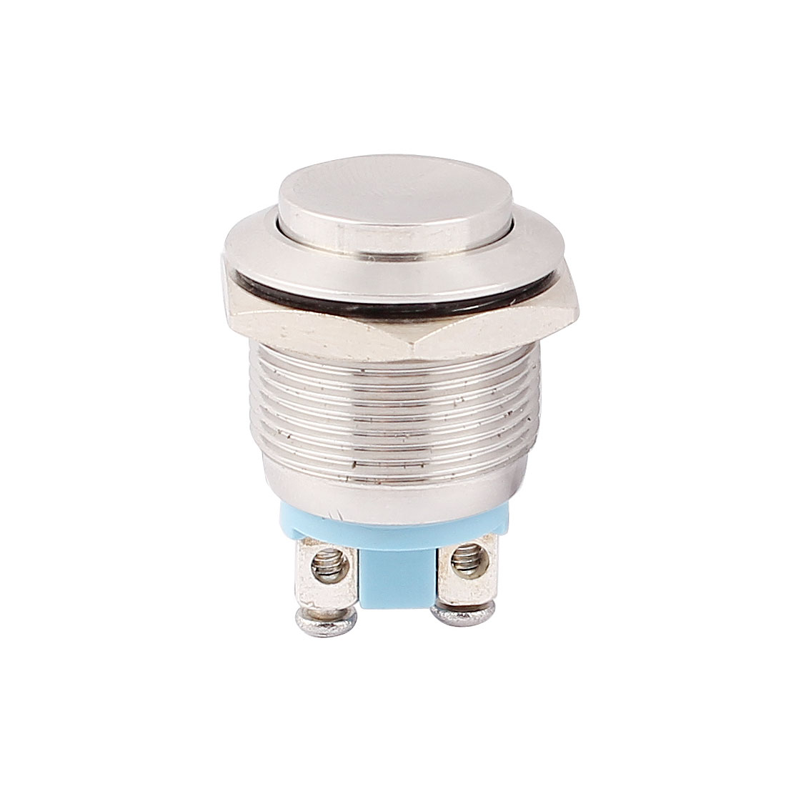 19mm Mounted Thread SPST High Head Self-Reset Push Button Switch
