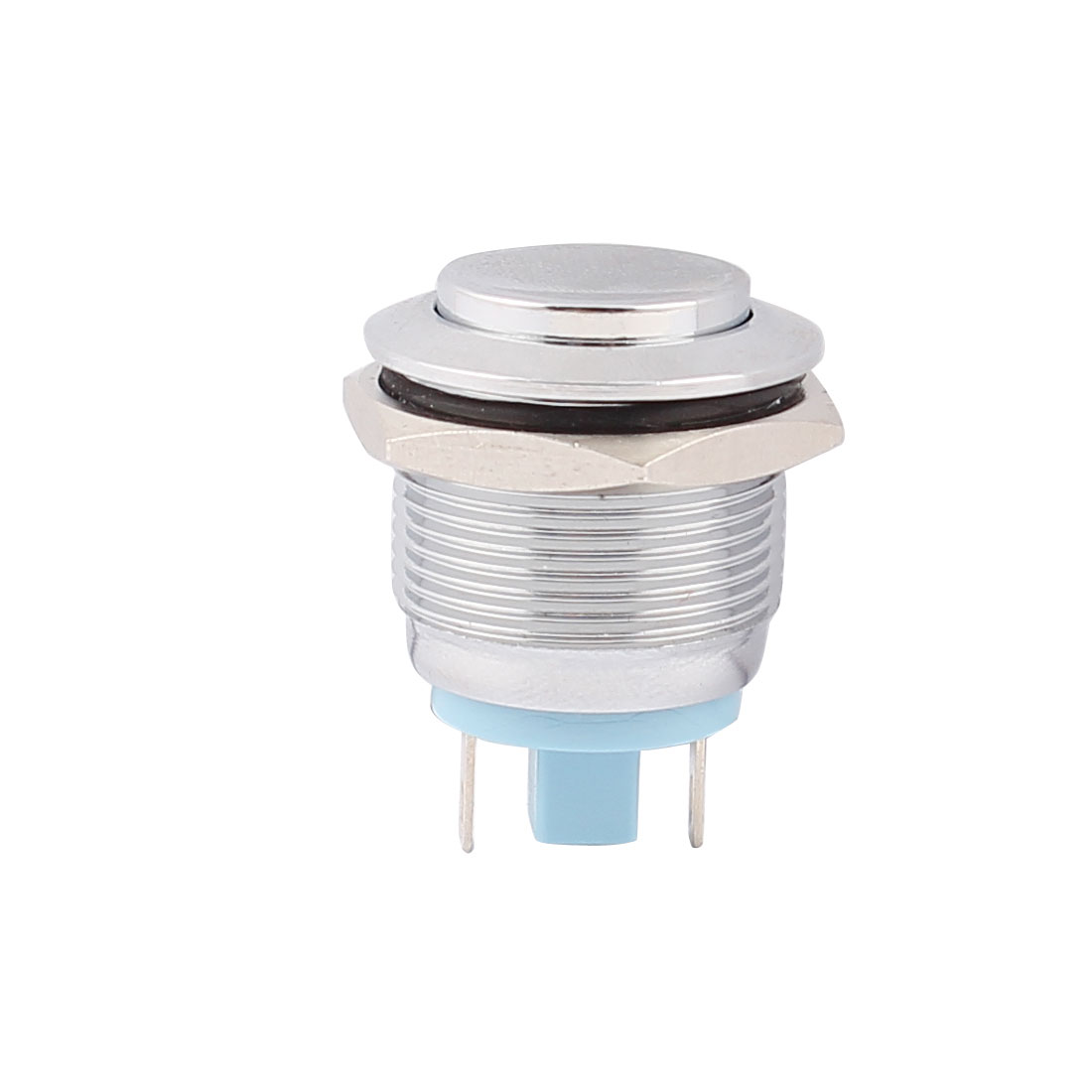 19mm Mounted Thread SPST 15mm High Head Momentary Push Button Switch