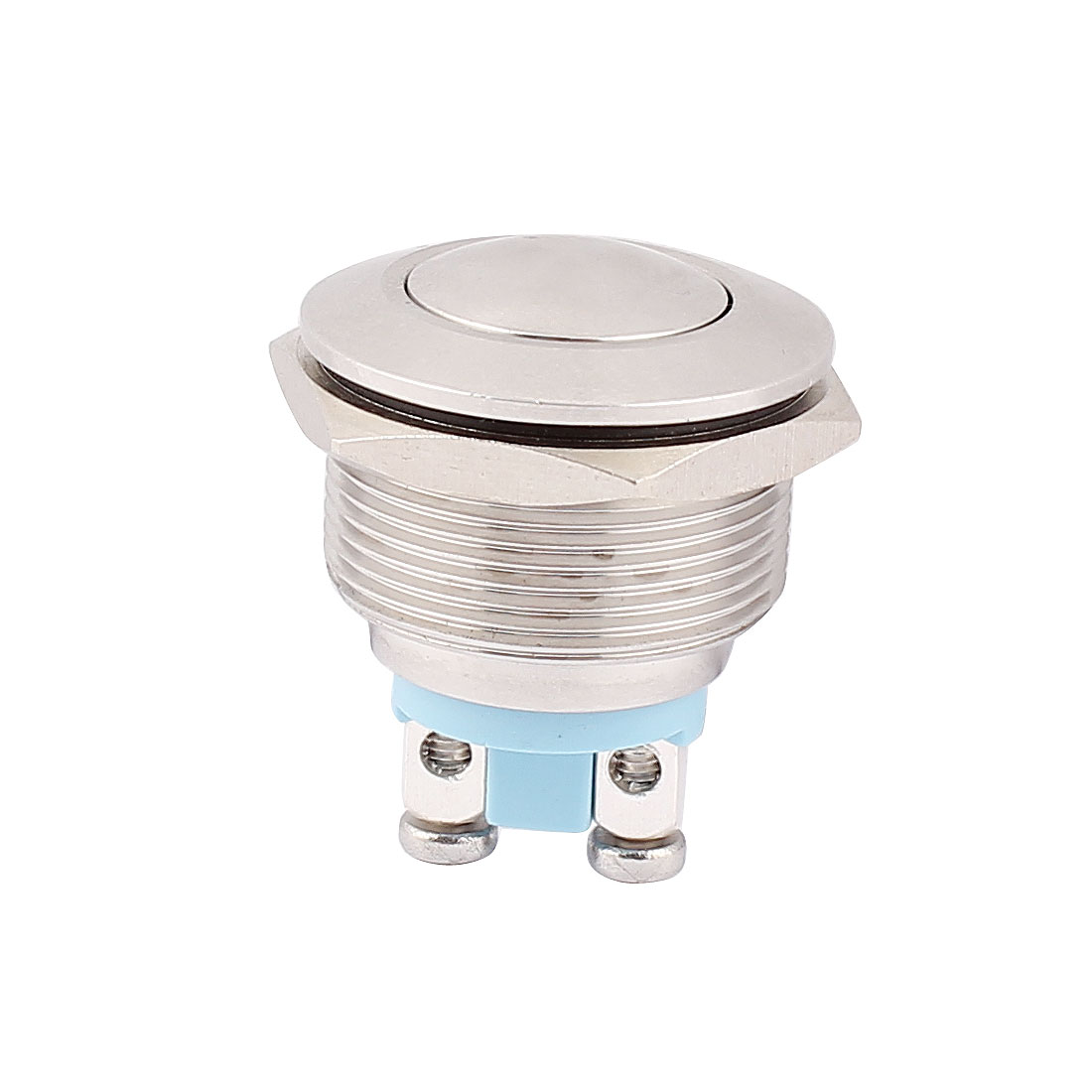 22mm Mounted Thread SPST Ball Head Momentary Push Button Switch