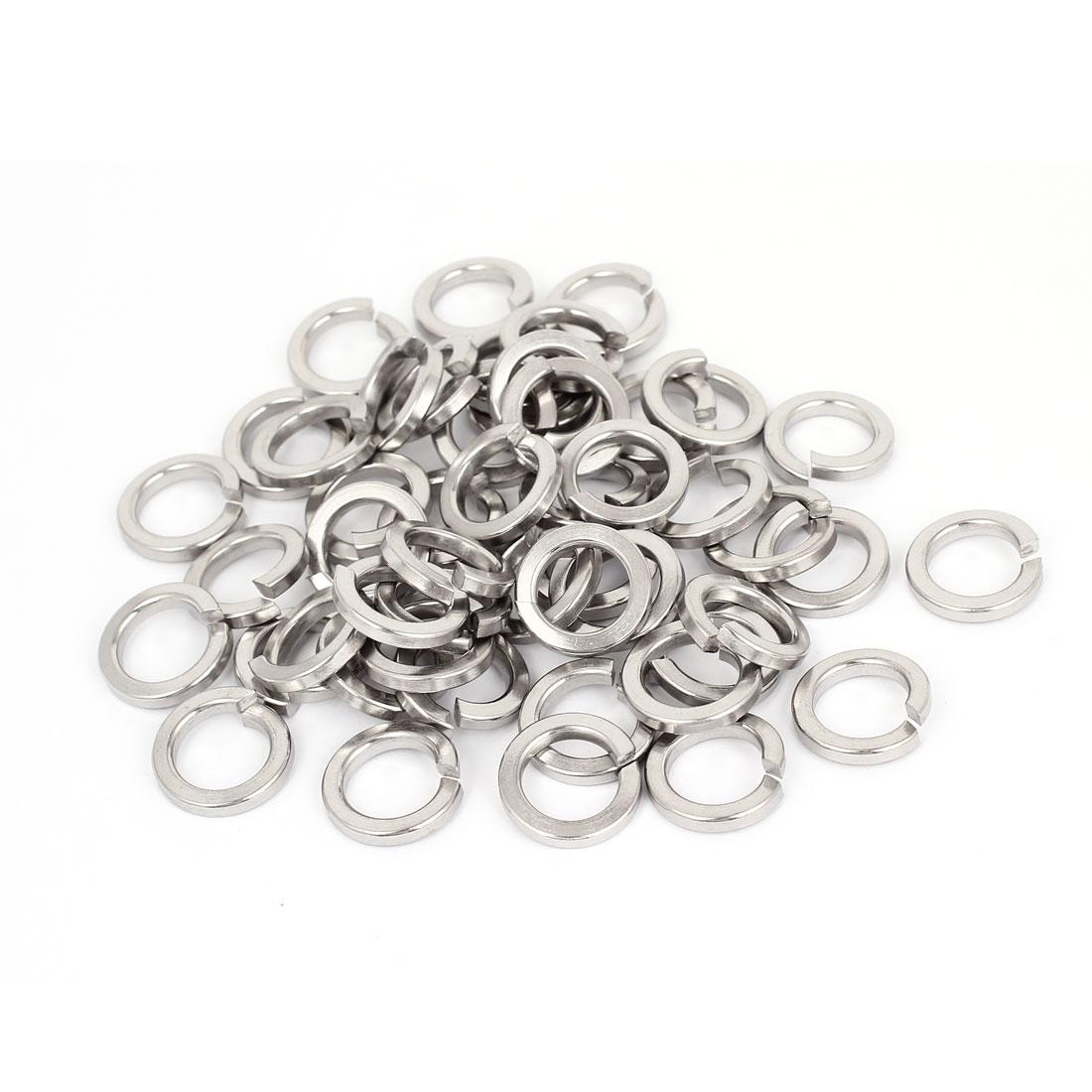 50pcs 304 Stainless Steel Split Lock Spring Washers M16 Screw Gasket Pad
