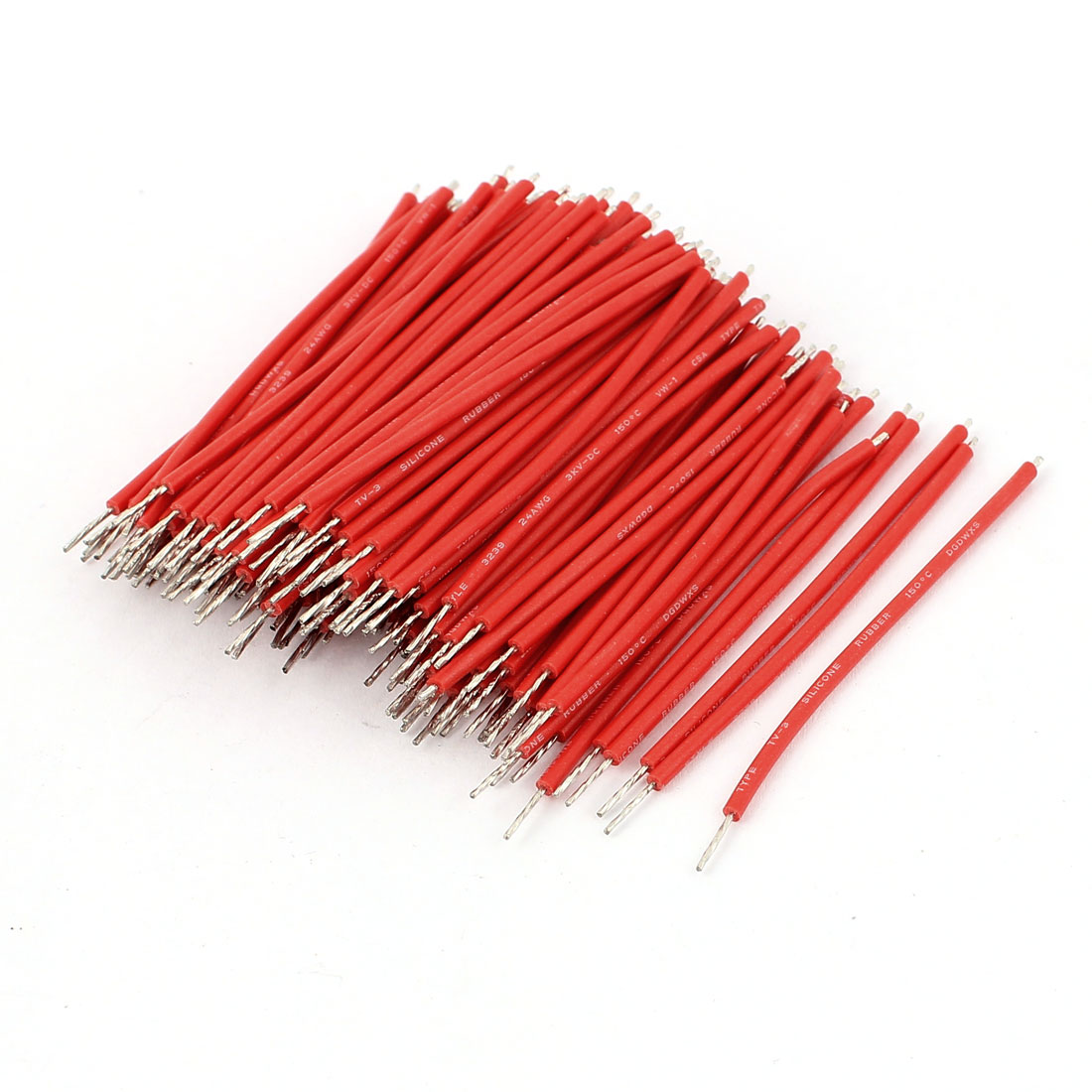 DC 3KV 24AWG Tinned Lead Core Solder Soldering Conductor Wire 150pcs