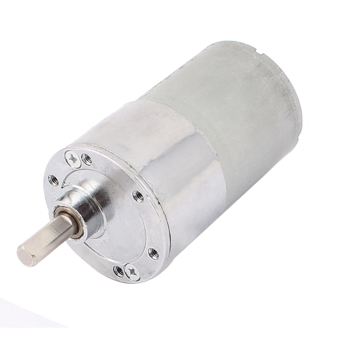 DC 12V 150RPM 6mm Shaft Dia Speed Reducing Gear Box Motor