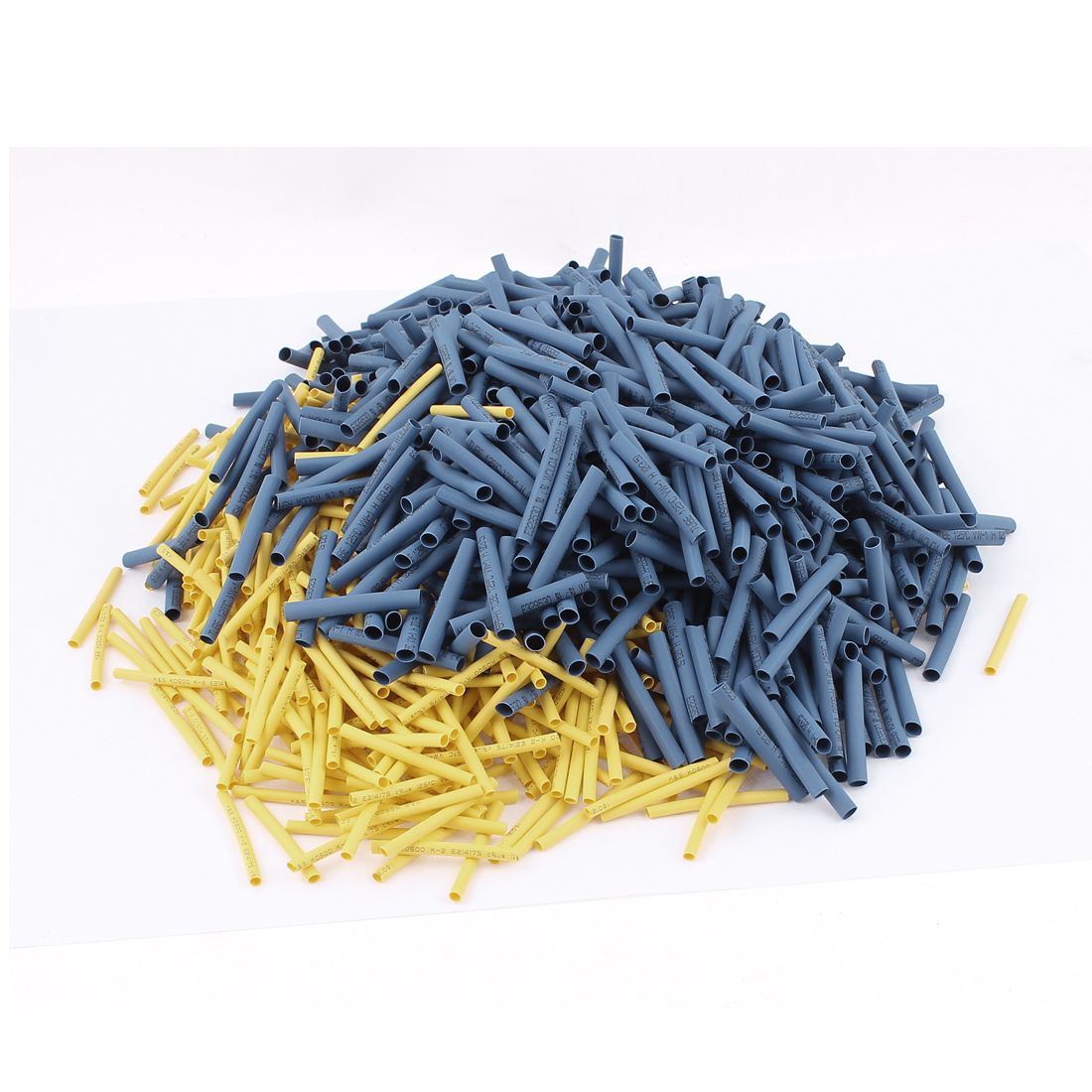 1600Pcs 2mm/3.5mm 2:1 Heat Shrink Tube Sleeving Wrap Wire 2 Sizes