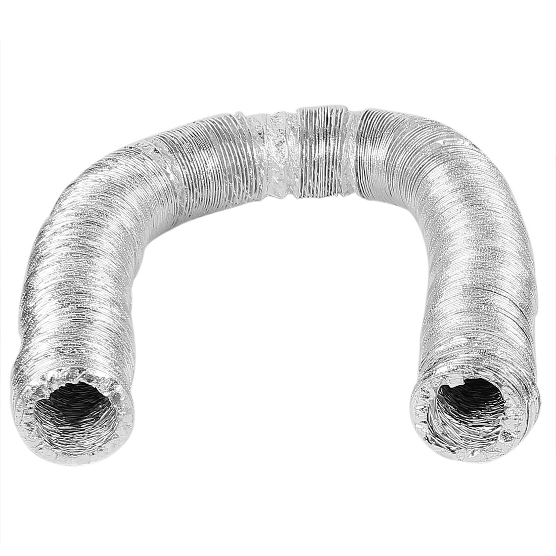 "9M Long 3"" ID Glass Fiber Fabric Ventilation Pipe Exhaust Tube"