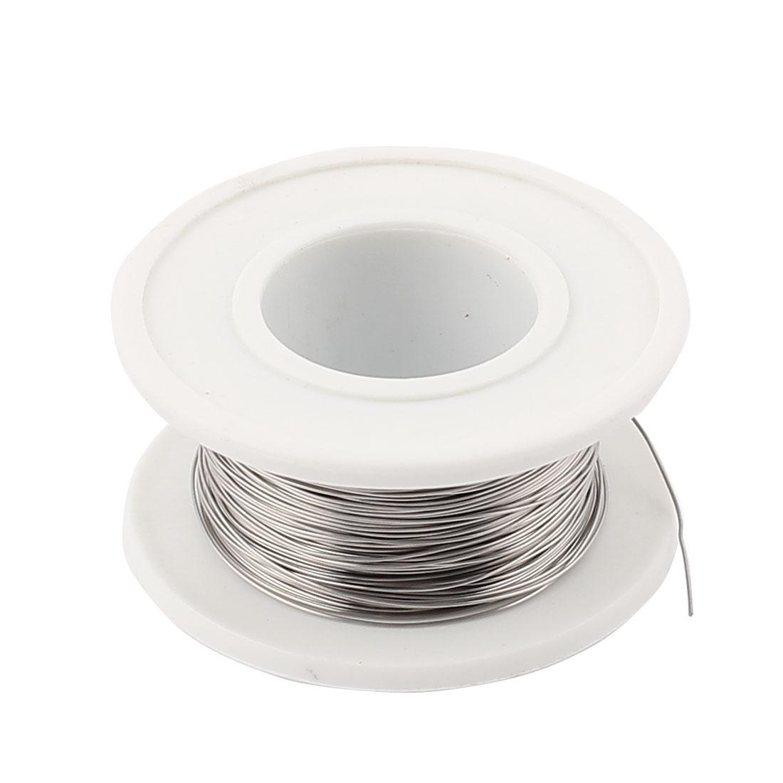 Nichrome 80 Round 0.3mm 29Gauge AWG 131.23ft Roll 15.42Ohm/m Heater Wire