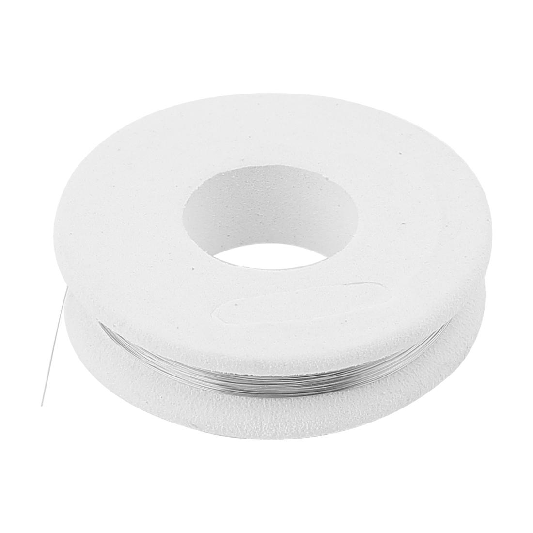 Nichrome 80 Round Wire 0.1mm 38Gauge AWG 32.8ft Roll 138.8Ohm/m Heater Wire