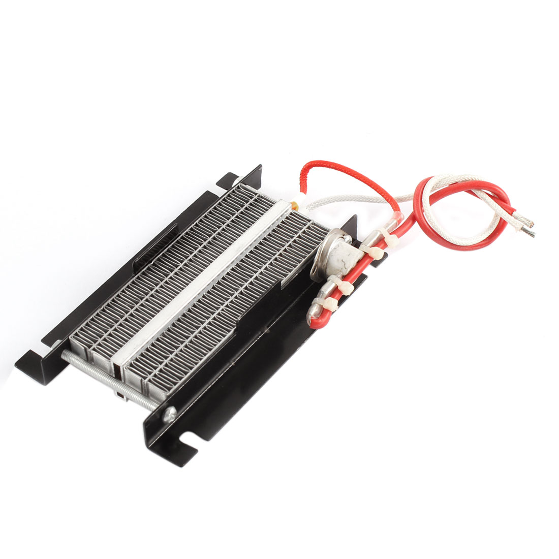 24V 250W 11-13A Aluminum PTC Heating Element Thermostat Heater Plate Black
