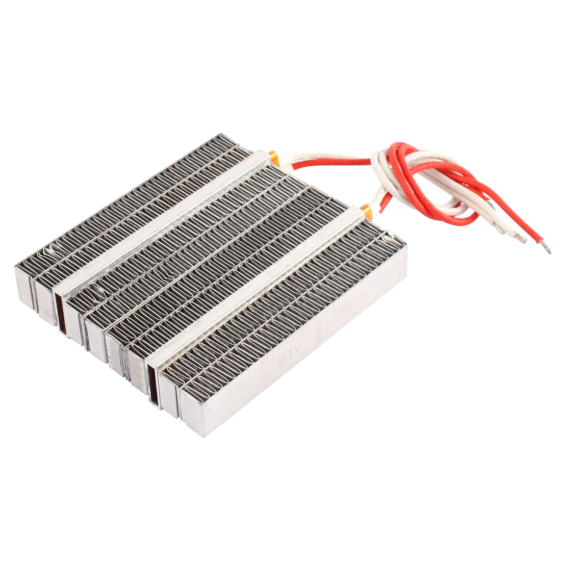 24V 500W PTC Heating Element Big Power Plate for Auto Car Silver Tone