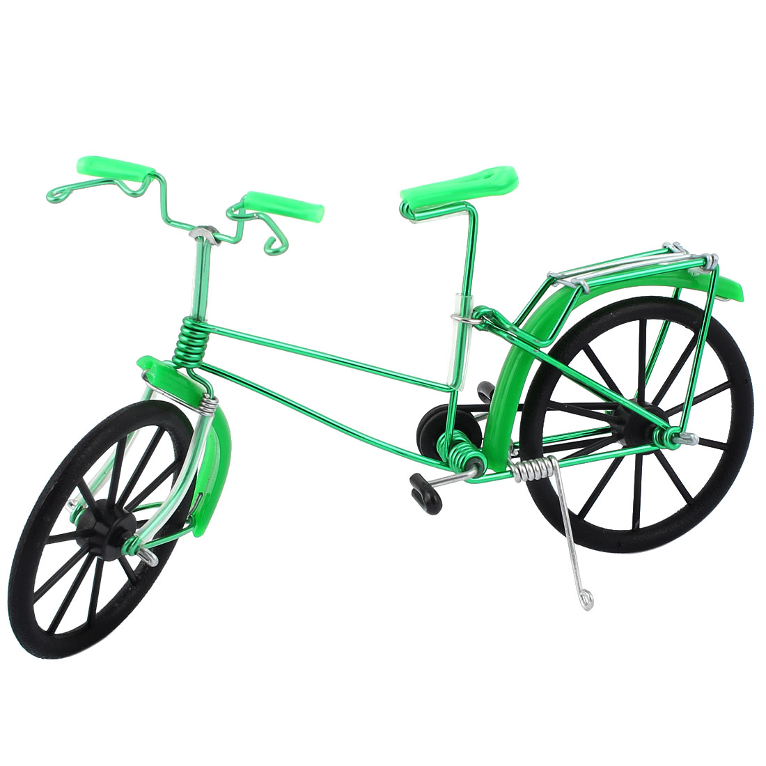 Hobby Cycling Collection Wire Crafts Die Cast Bicycle Bike Model Replica Toy Green