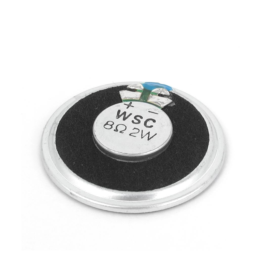 Electronic Toys 40mm Diameter Round Internal Magnet Speaker 8 Ohm 2W