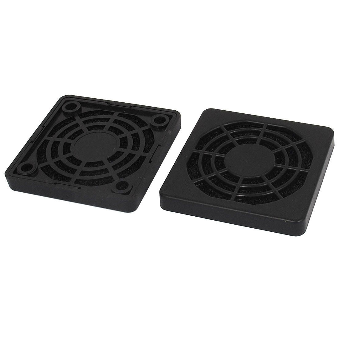 PC Computer Dustproof 50mm Case Fan Dust Filter Guard Grill Protector Cover 2pcs