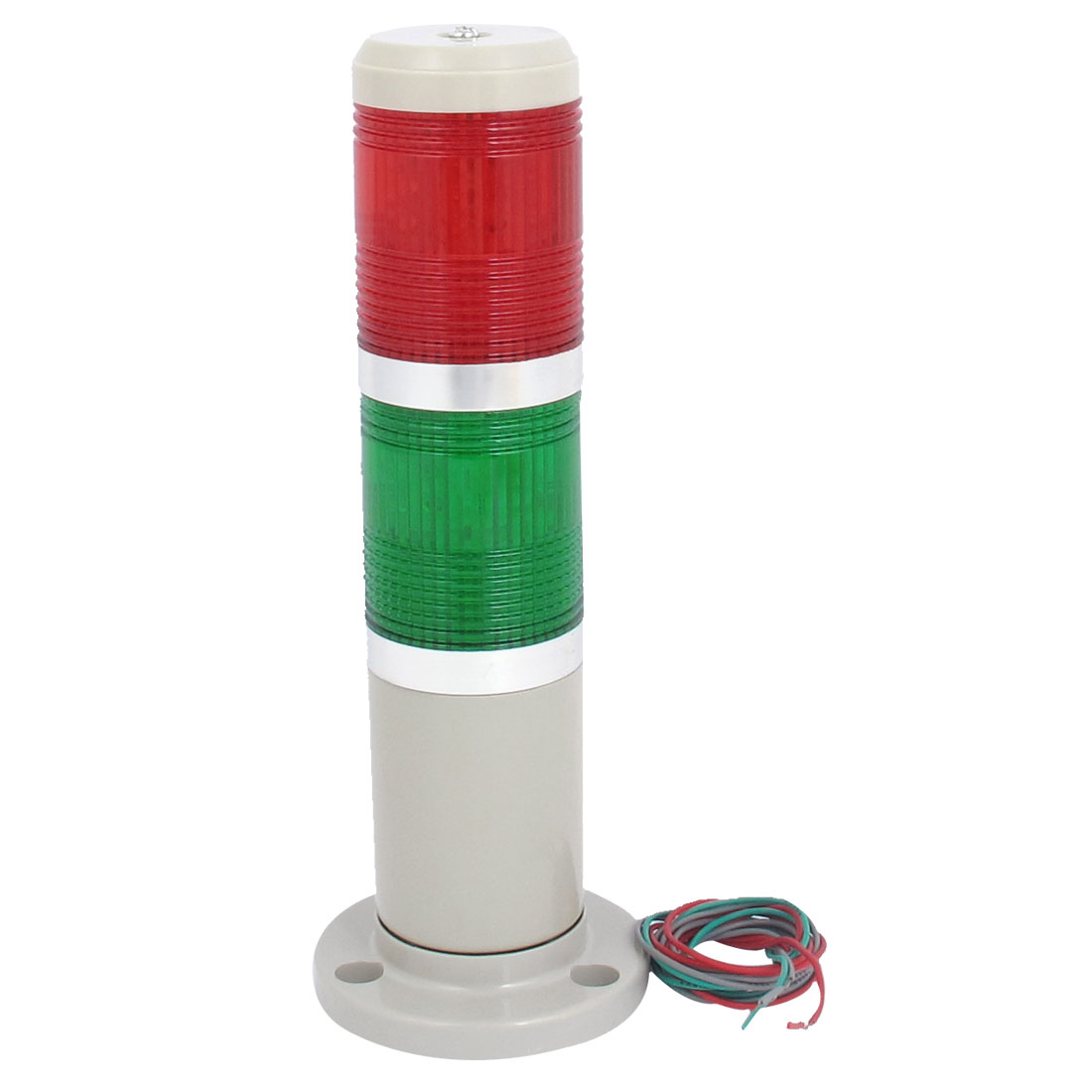 AC 220V Red Green Signal Industrial Tower Lamp Warning Stack Light