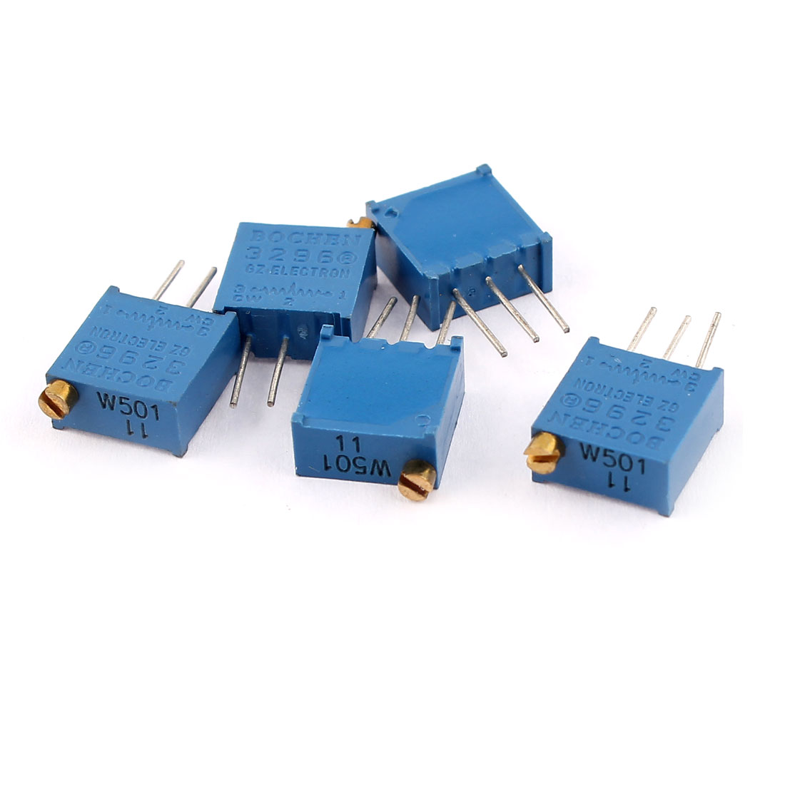 3296W-1-501 Square Trimmer Pot Potentiometer 5 Pcs