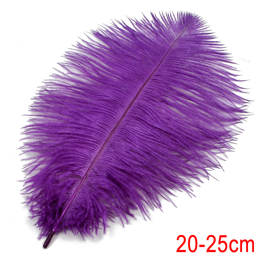 8-10 inch / 20-25cm Ostrich Feather for Wedding Party Decoration Purple