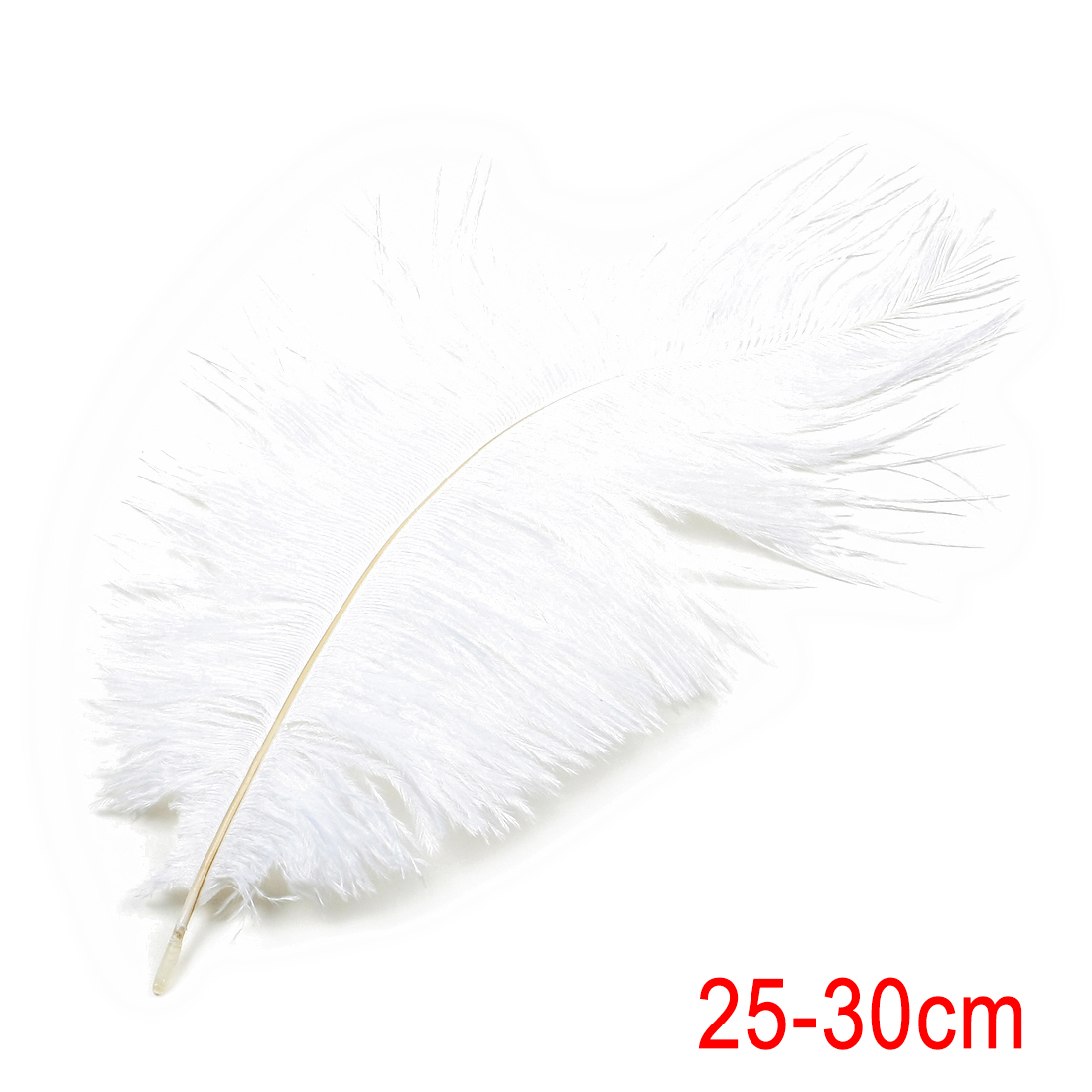 10-12 inch / 25-30cm Ostrich Feather for Wedding Party Decoration White
