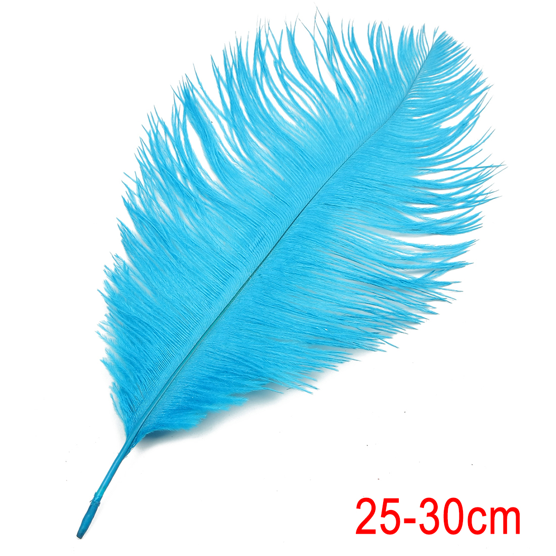 10-12 inch / 25-30cm Ostrich Feather for Wedding Party Decoration Blue