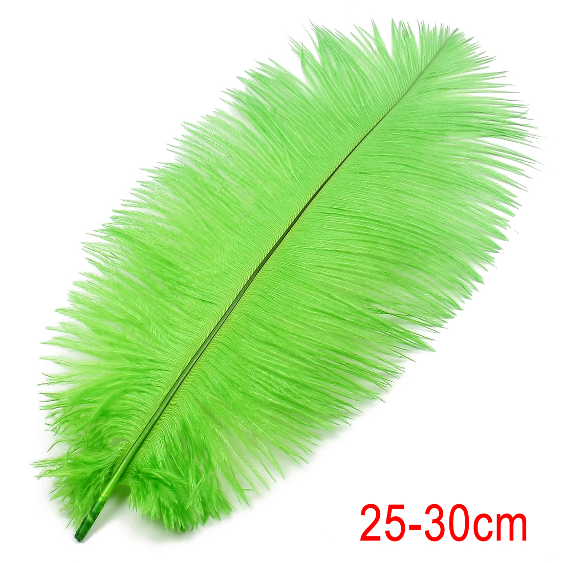 10-12 inch / 25-30cm Ostrich Feather for Wedding Party Decoration Green