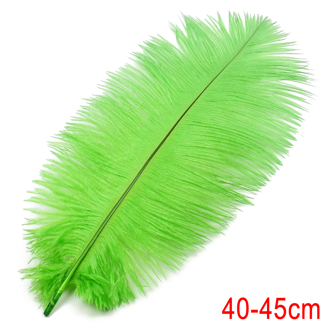 16-18inch / 40-45cm Ostrich Feather for Wedding Party Decoration Green