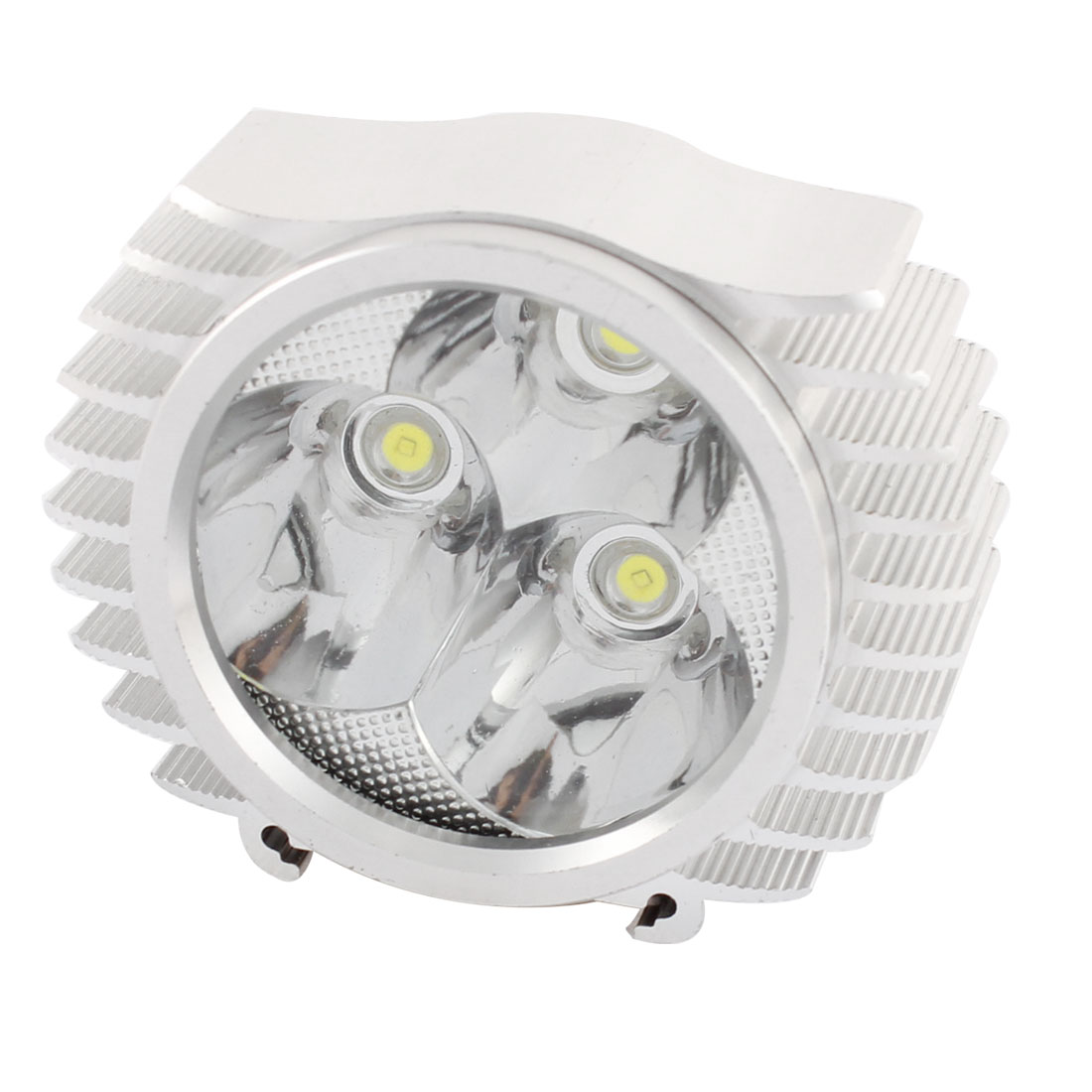 12-100V White 3 LED Motorbike Headlight Headlamp Fog Driving Spot Light Lamp