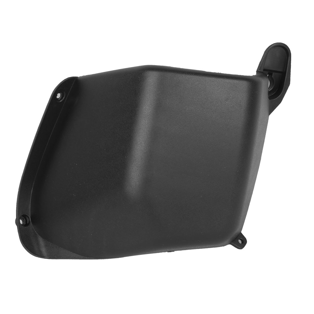 Motorcycle Black Plastic Front Storage Case Side Tool Box End Cap Cover for BWS