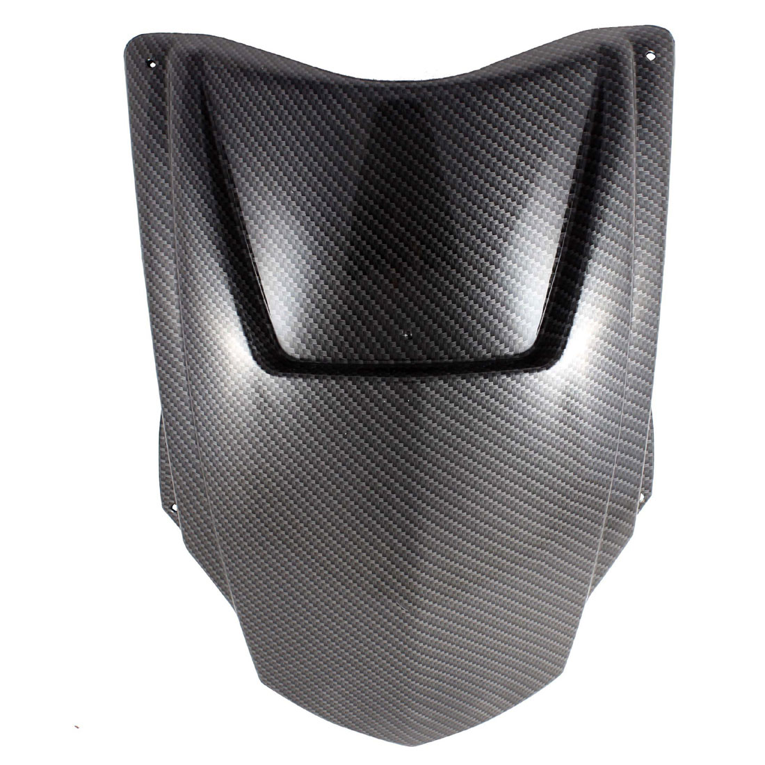 36cm x 30cm ABS Plastic Carbon Fiber Pattern Motorcycle Front Panel Cover for BWS