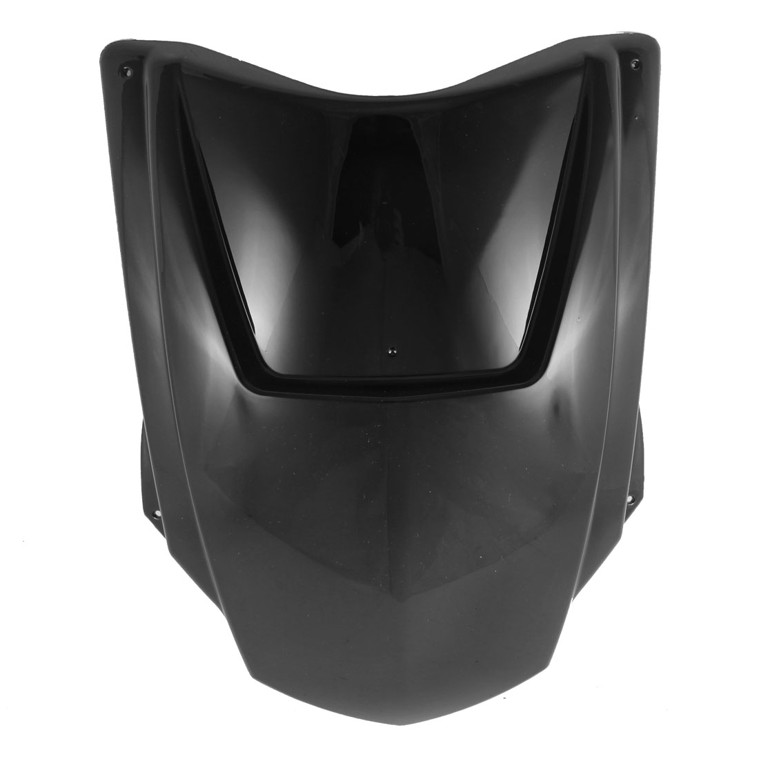 Motorcycle Scooter ABS Plastic Front Panel Cover Protector Black for BWS
