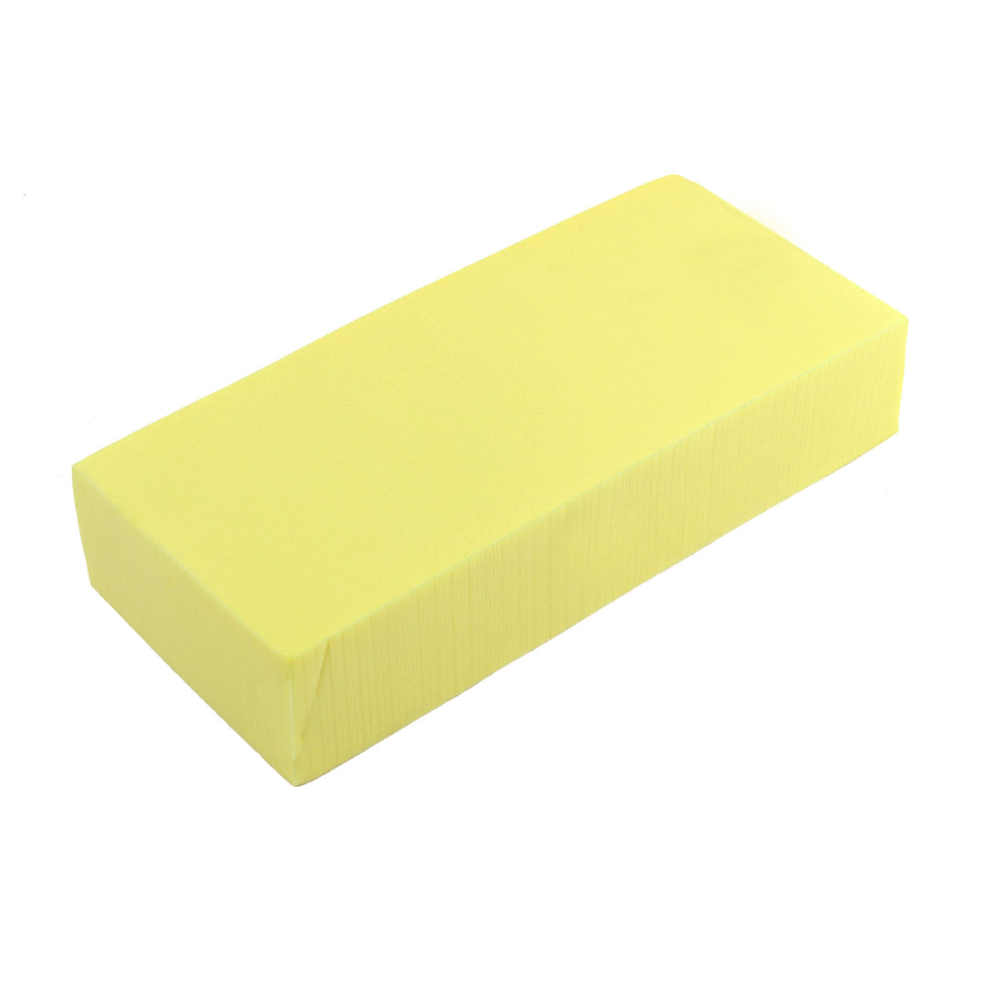 Home Car Cleaning Tool Yellow Suction Washing Sponge Pad Block 172 x 75 x 35mm