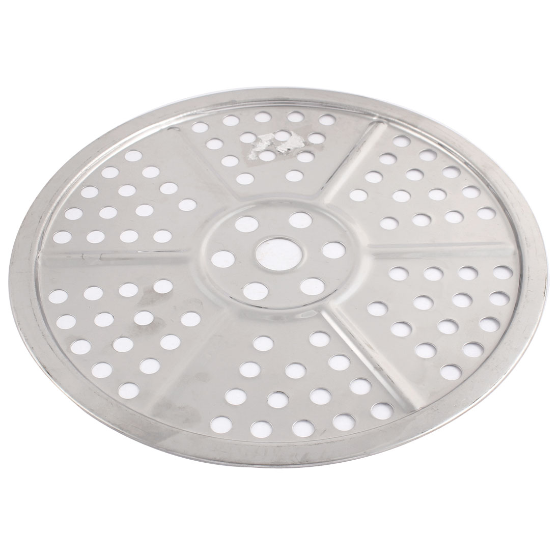 Kitchenware 22cm Dia Metal Round Shaped Food Cooking Steamer Steaming Rack Plate