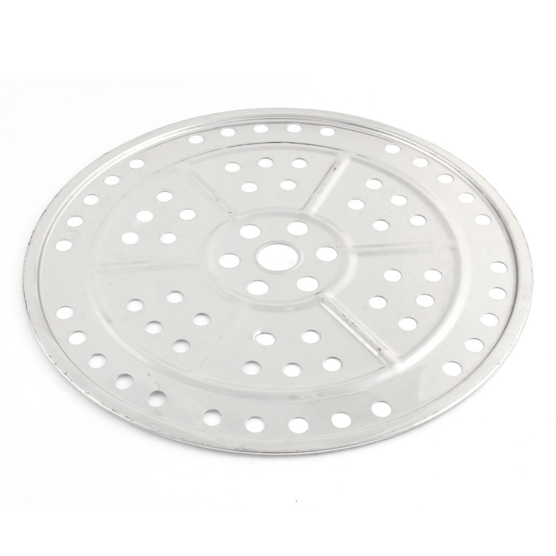 Cookware 24cm Dia Metal Round Shaped Food Cooking Steamer Steaming Rack Insert Plate