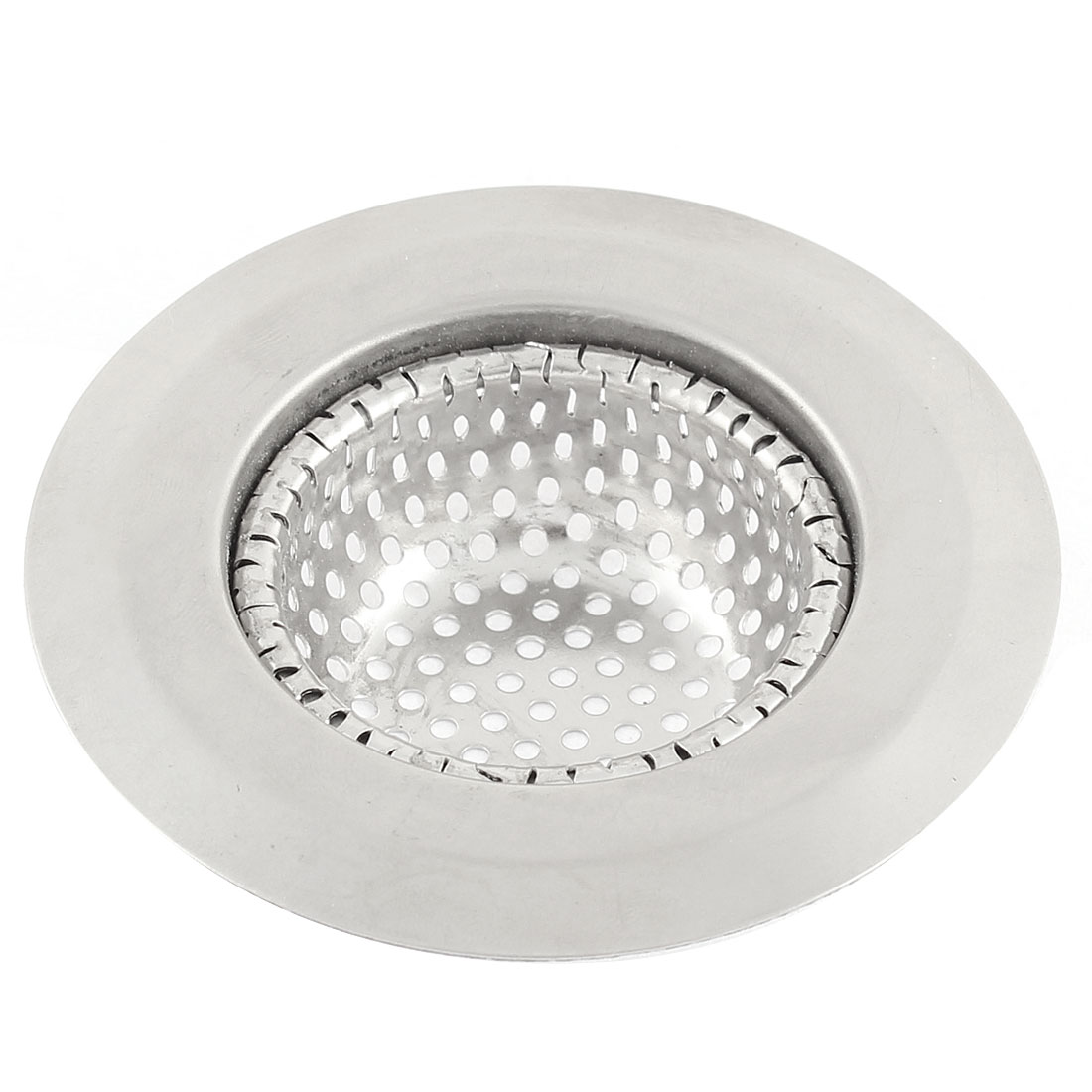 Bathroom Shower Bathtub Sink Basin Mesh Strainer Drain Drainer Waste Disposal Stopper 7.3cm Dia