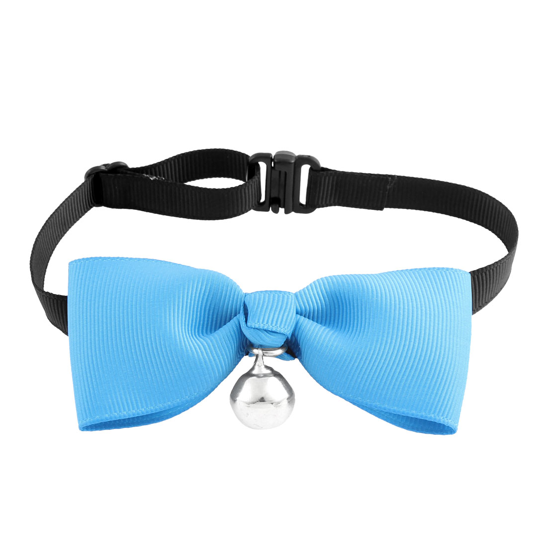 Pet Cat Puppy Bowknot Bell Pendant Bowtie Necktie Collar Clothes Match Blue