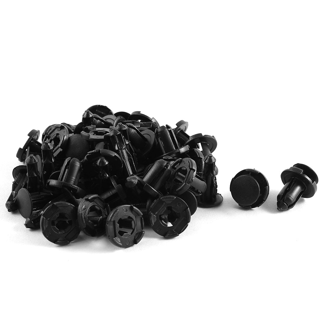 30Pcs Plastic Push Type Retainer Clip for Car Engine Splash Guard