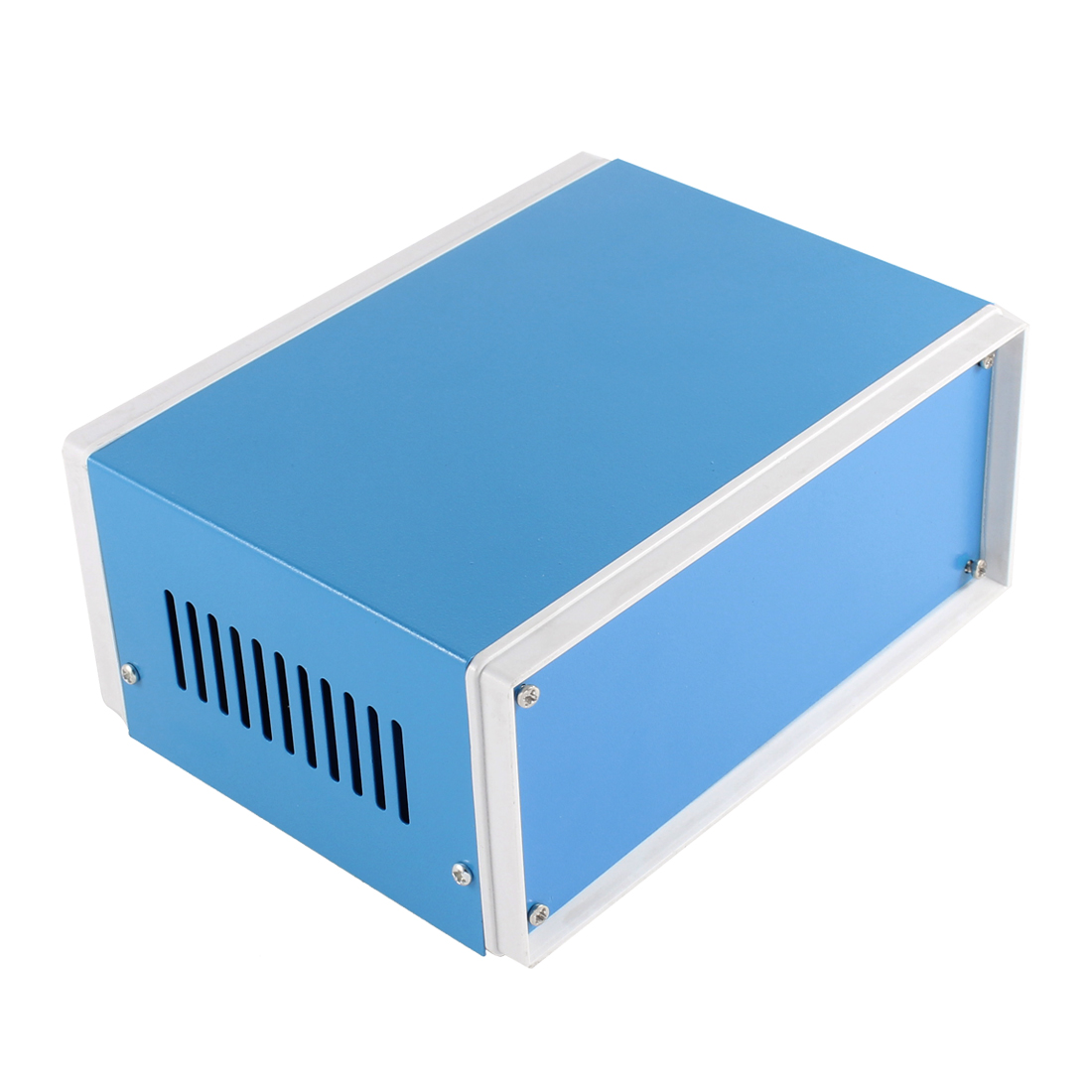 Blue Metal Electronic Project Box Enclosure Case 170 x 130 x 74mm