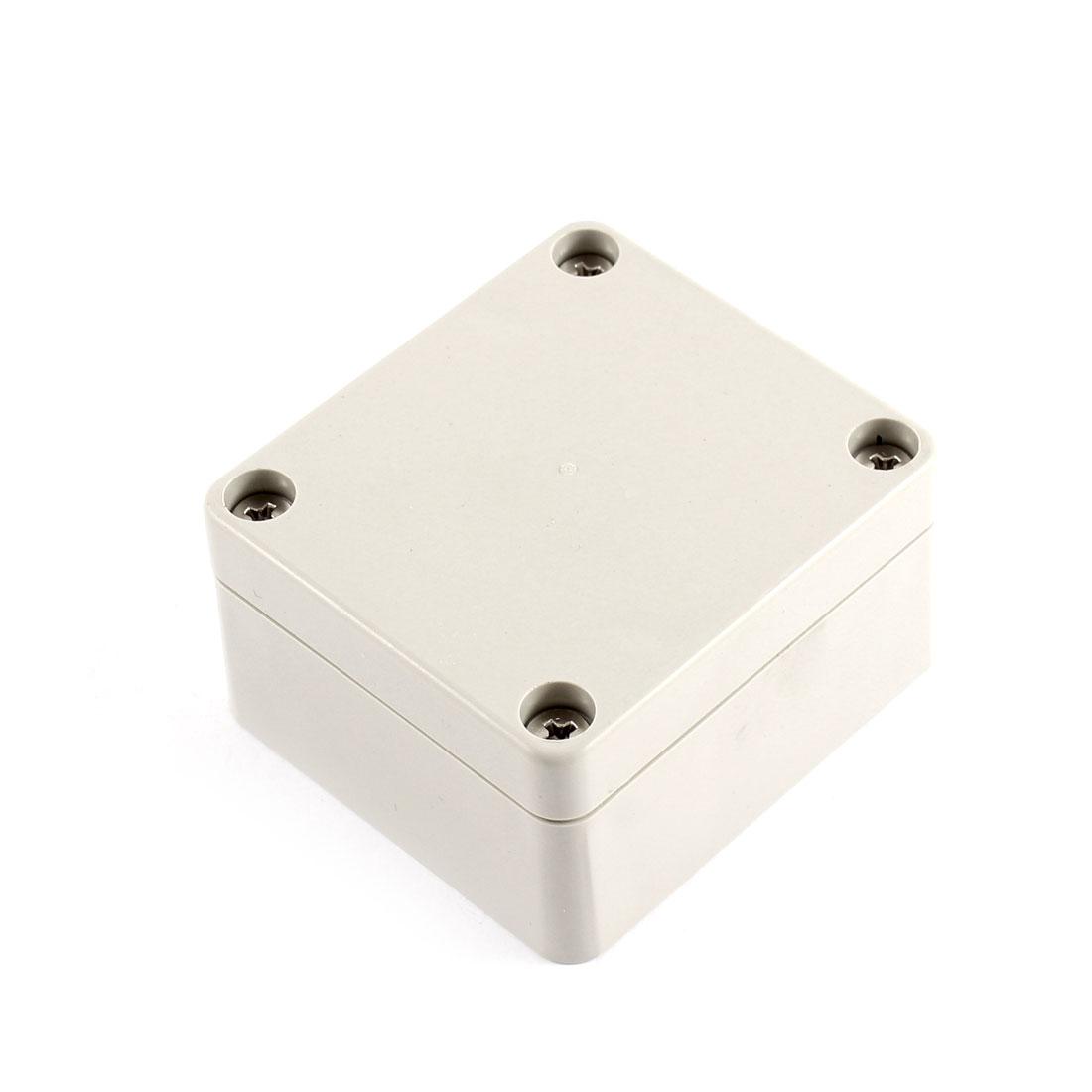 63 x 58 x 35mm Waterproof Plastic Enclosure Case Small Project Box