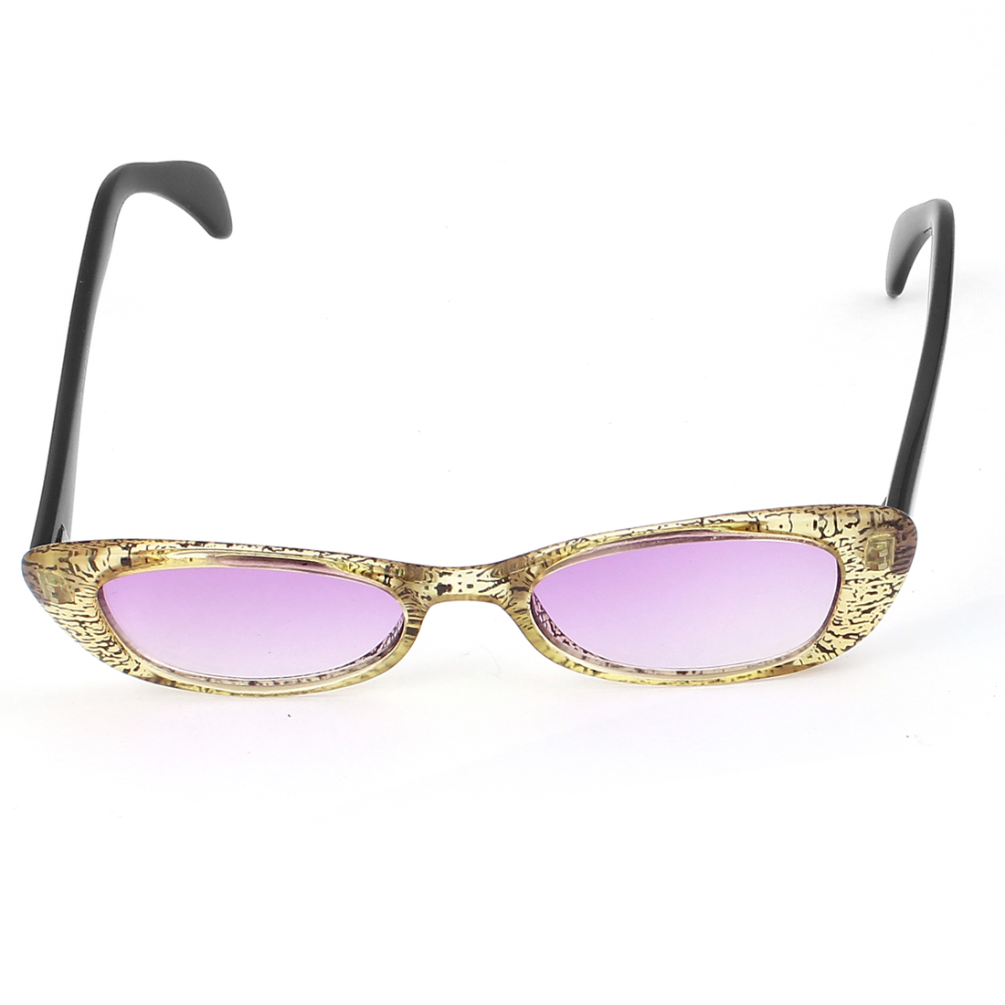 Women Outdoor Protective Cat Eye Sunglasses Eyewear Glasses Purple