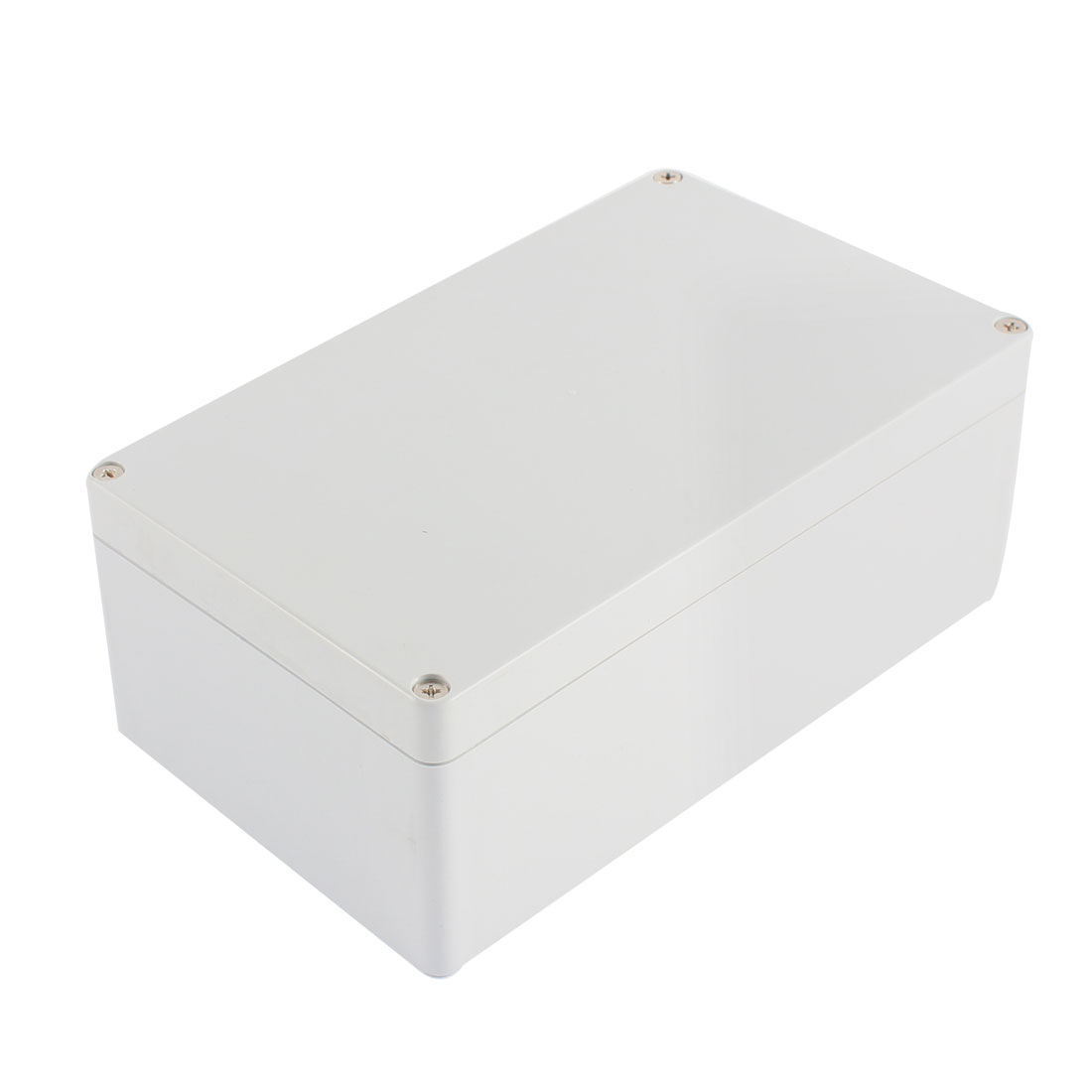 Plastic Gray Electronic Project Junction Box Enclosure Case 198 x 118 x 75mm