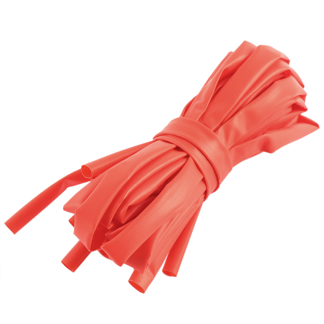 10pcs 2:1 Polyolefin Heat Shrink Tubing Tube Sleeving Wrap Wire Kit Red