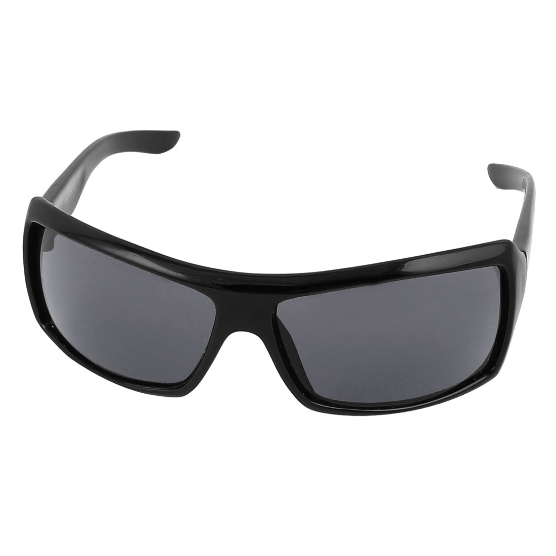 Mens Plastic Frame Outdoor Driving Eyewear Sunglasses Eye Protector Black