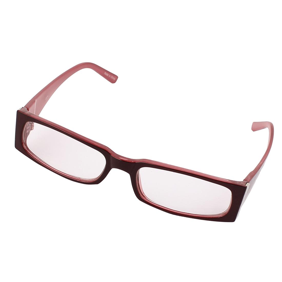 Women Full Rim Square Frame Spectacles Outdoor Eyeglasses Eyewear