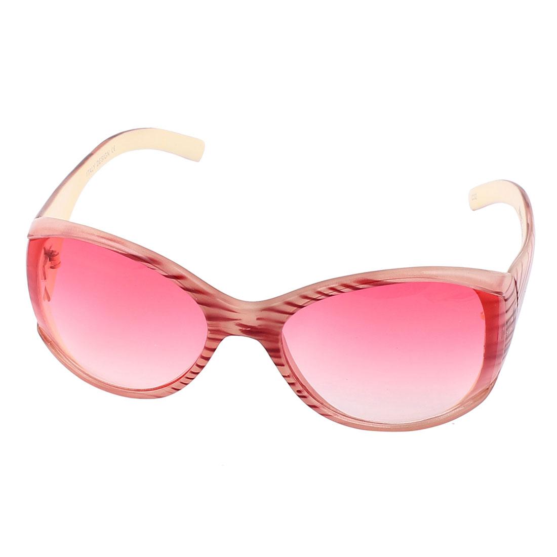 Full Frame Sun Protective Outdoor Eyewear Googles Sunglasses Pink