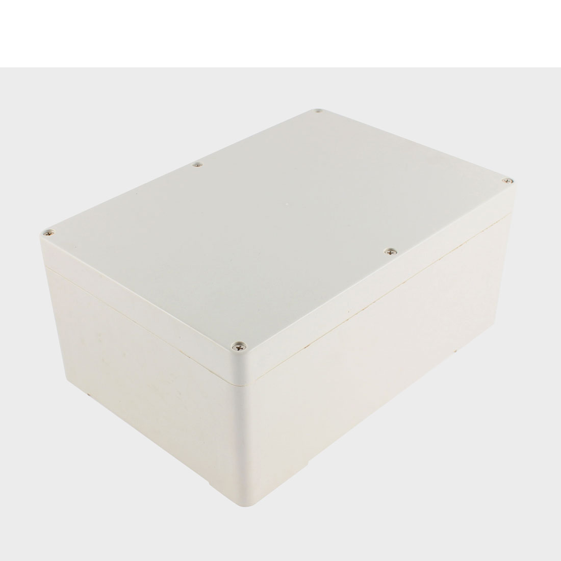 Beige Plastic Electronic Project Junction Box 262 x 182 x 112mm