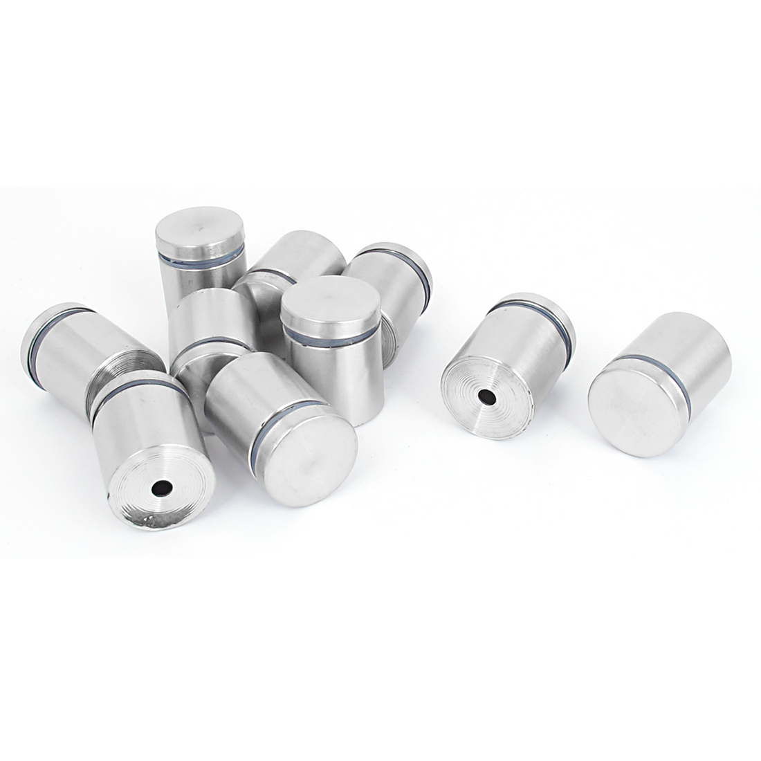 25mm x 30mm Stainless Steel Advertising Frameless Glass Standoff Pins 10pcs