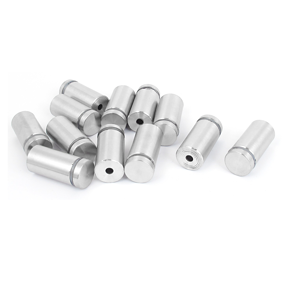19mm x 40mm Stainless Steel Advertising Frameless Glass Standoff Pins 12pcs