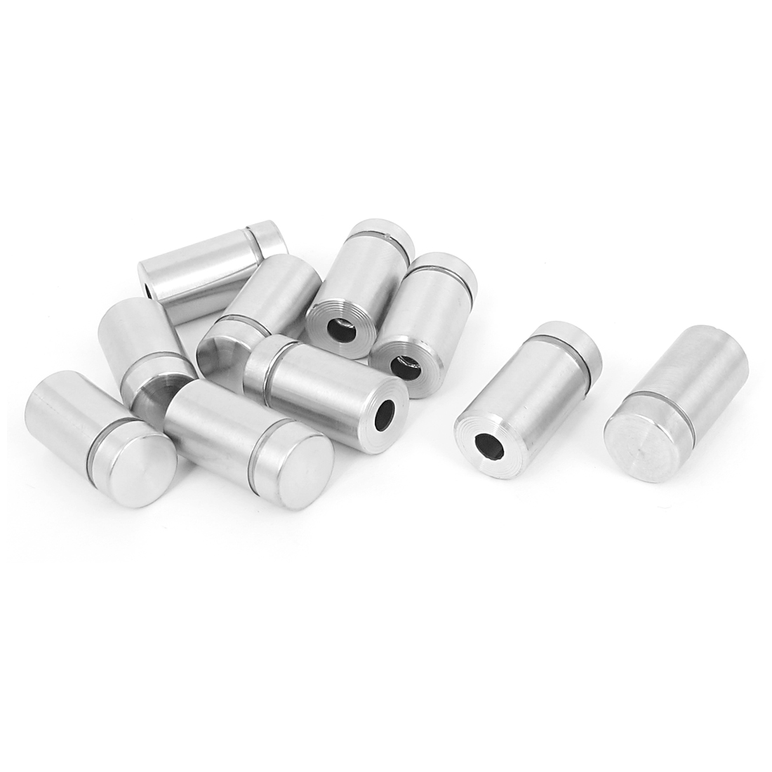12mm x 22mm Stainless Steel Advertising Frameless Glass Standoff Pins 10pcs