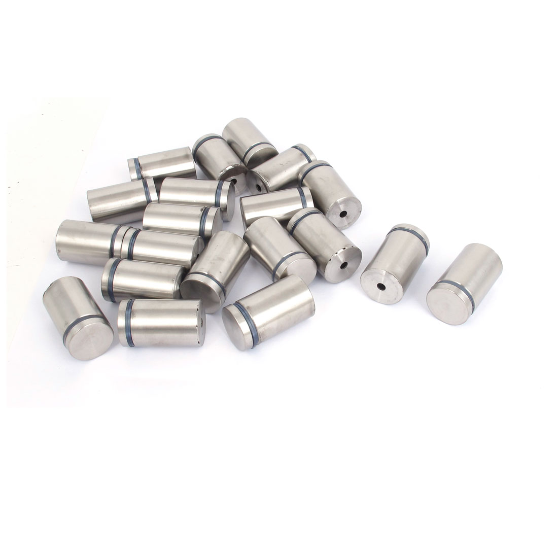 25mm x 40mm Stainless Steel Advertising Frameless Glass Standoff Pins 20pcs