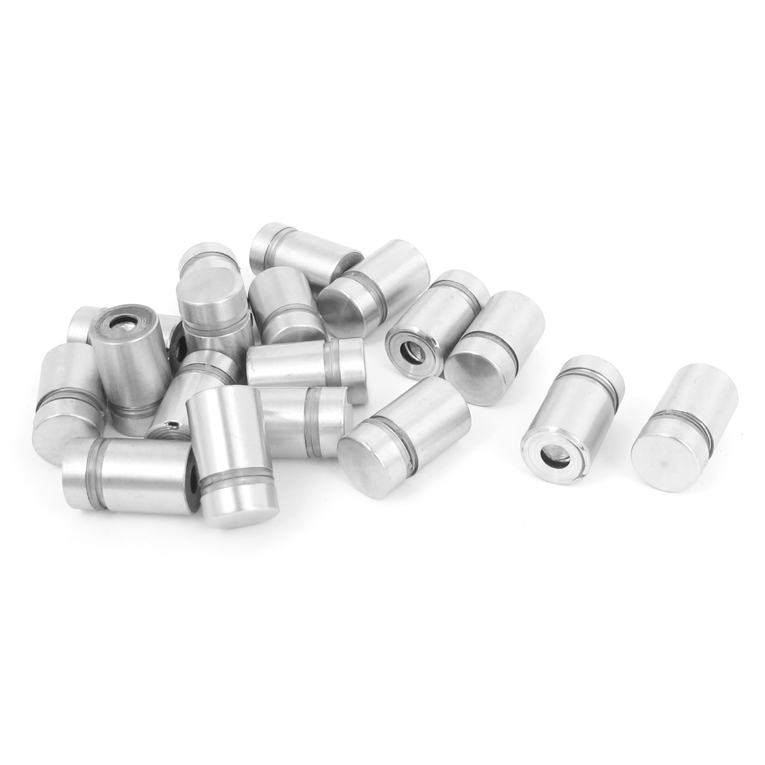 12mm x 20mm Stainless Steel Advertising Frameless Glass Standoff Pins 18pcs