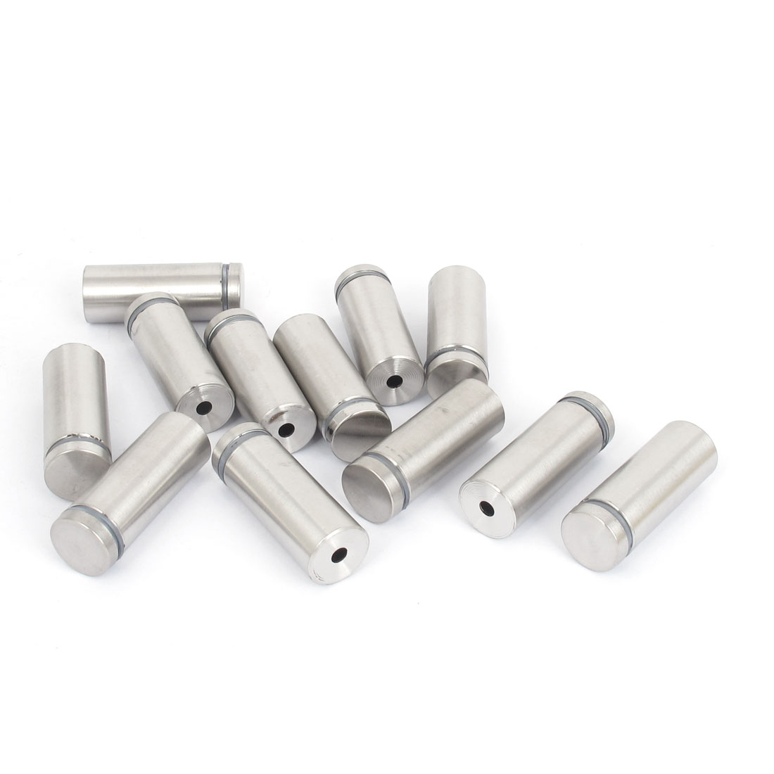 19mm x 50mm Stainless Steel Advertising Frameless Glass Standoff Pins 12pcs