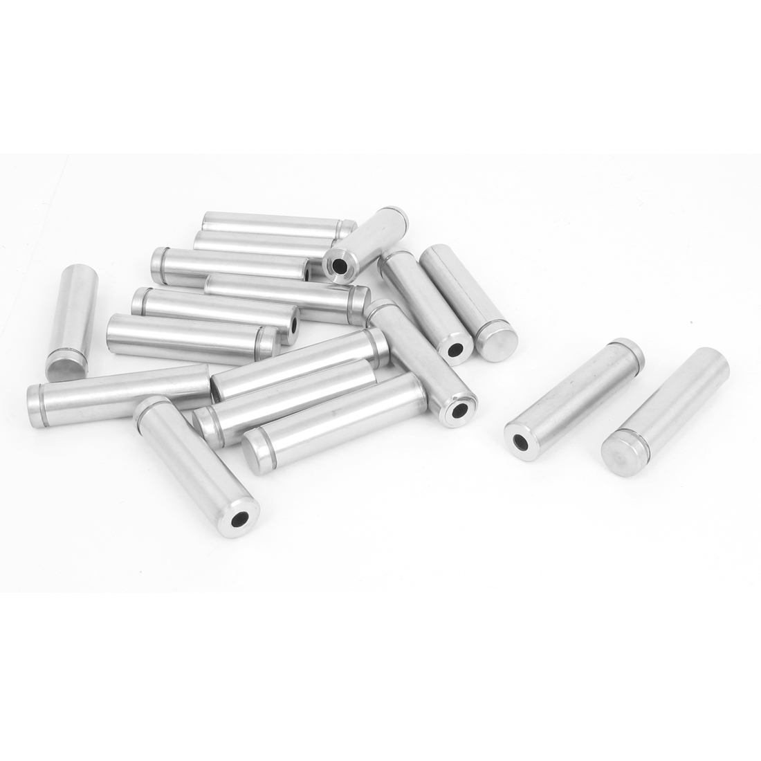 12mm x 50mm Stainless Steel Advertising Frameless Glass Standoff Pins 18pcs